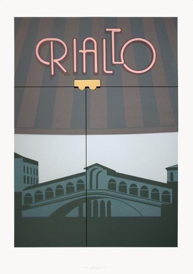 Rialto-Perry King-Serigraph