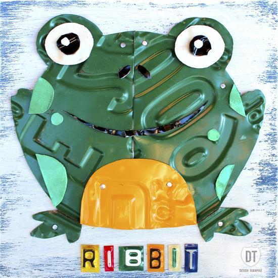 Ribbit the Frog-Design Turnpike-Giclee Print