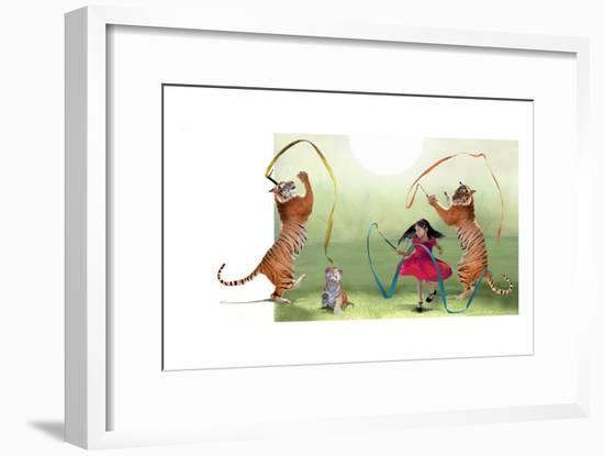 Ribbon Dance-Nancy Tillman-Framed Art Print