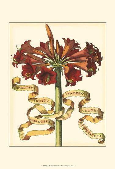 Ribbon Florals I--Art Print
