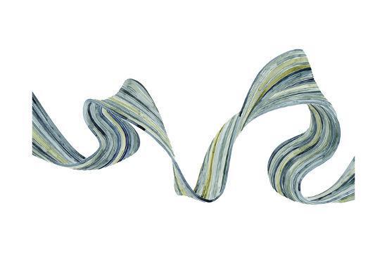 Ribbon Stream II-Grace Popp-Art Print