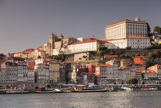 Ribeira District, UNESCO World Heritage Site, Se Cathedral, Palace of the Bishop, Porto (Oporto), P-Markus Lange-Photographic Print