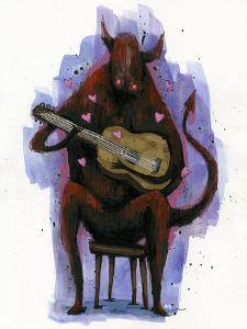 The Devil Plays The Blues by Ric Stultz