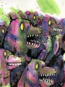 Tough Crowd by Ric Stultz