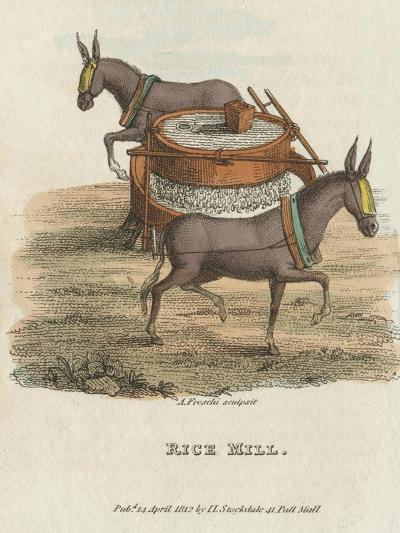 Rice Mill, 1813--Giclee Print