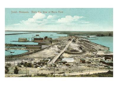 Rice's Point, Duluth, Minnesota--Art Print