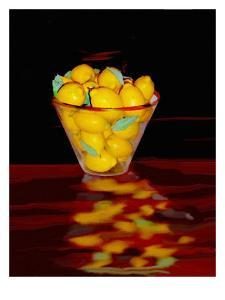 Bowl of Lemons by Rich LaPenna