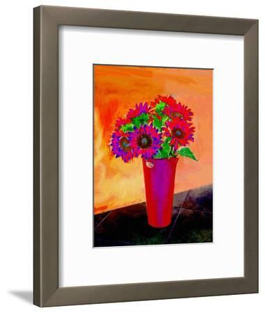 Flowers in Vase Illustration