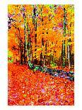 Forest in Autumn-Rich LaPenna-Framed Giclee Print