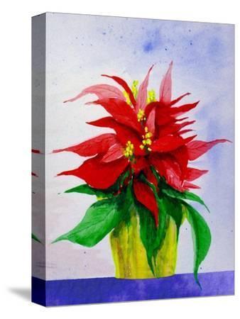 Poinsetta Flower in Pot
