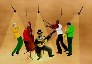 Ragtime Band by Rich LaPenna