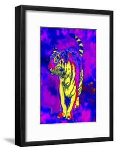 Tiger Endangered Species by Rich LaPenna