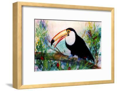 Toucan Sits on Large Branch