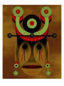 War Mask by Rich LaPenna