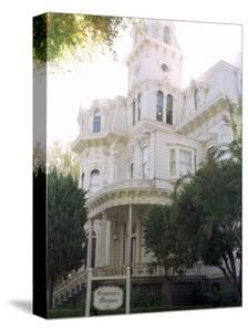 The Former California Governors Mansion Seen in Downtown Sacramento, California by Rich Pedroncelli