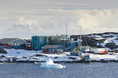 American Research and Science Base of Palmer Station on Anvers Island on the Antarctic Peninsula by Rich Reid