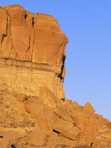 Chaco Canyon Red Rocks by Rich Reid