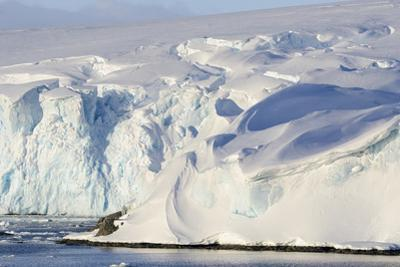 Glacier Next to the American Research and Science Base of Palmer Station on Anvers Island by Rich Reid
