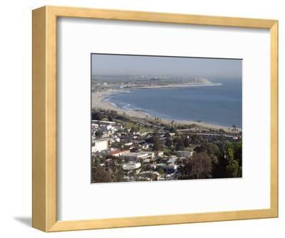 San Buenaventura State Beach and Ventura Harbor, California