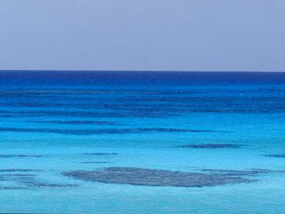Rich Turquoise Seas and Coral Reefs Surround Remote Tropical Islands-Jason Edwards-Photographic Print
