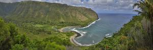 Halawa Valley, East End, Molokai, Hawaii by Richard A Cooke III