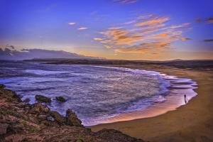 Kawa'Aloa Bay Sunrise, Mo'Omomi Preserve, Nature Conservancy, Molokai, Hawaii by Richard A Cooke III