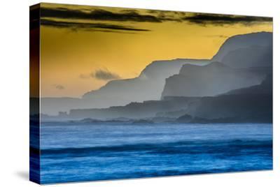 Molokai's North Shore Sea Cliffs at Sunrise