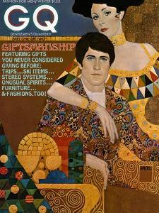 GQ Cover - December 1972 by Richard Amsel