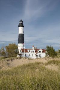 Big Sable Point Lighthouse on Lake Michigan, Mason County, Ludington, Michigan by Richard and Susan Day