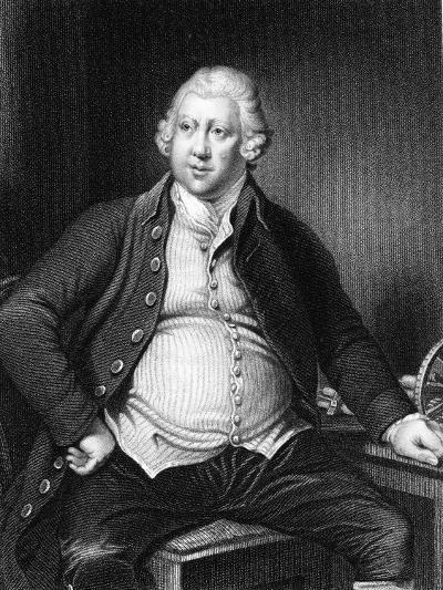 Richard Arkwright (1732-179), British Industrialist and Inventor-Joseph of Derby Wright-Giclee Print