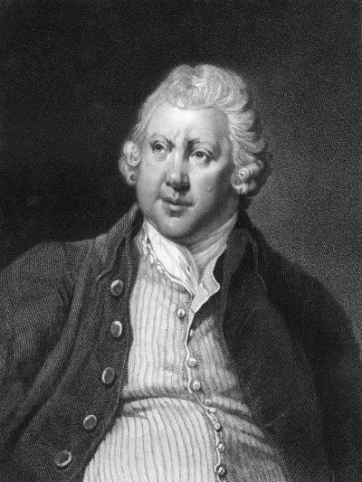 Richard Arkwright, 18th Century British Industrialist and Inventor-James Posselwhite-Giclee Print