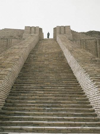 Ruins of Ur, Iraq, Middle East
