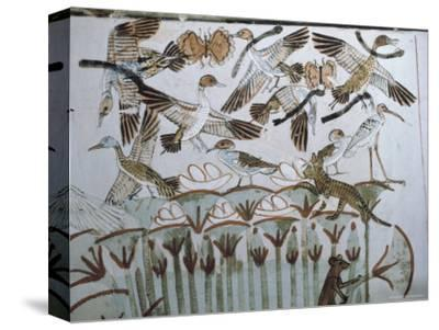 Wall Paintings, Tomb of Menna, Thebes,Unesco World Heritage Site, Egypt, North Africa, Africa