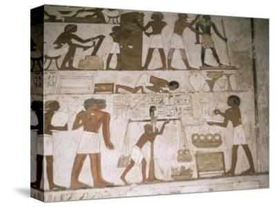 Wall Paintings, Tomb of Rehunire, Valley of the Nobles, Thebes, Unesco World Heritage Site, Egypt