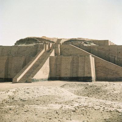 Ziggurat in Sumerian City Dating from around 4500-400Bc, Ur, Iraq, Middle East
