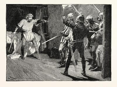 Richard Assailed by the Austrian Soldiers--Giclee Print
