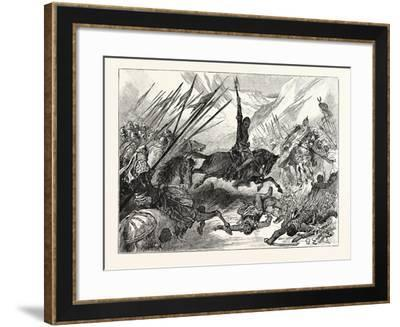 Richard at the Battle of Azotus--Framed Giclee Print