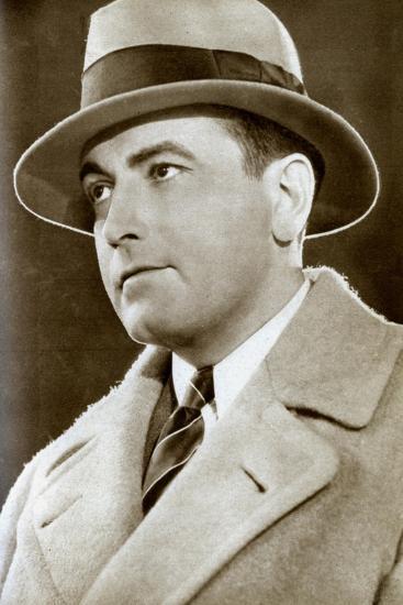 Richard Barthelmess, American Actor, 1933--Giclee Print