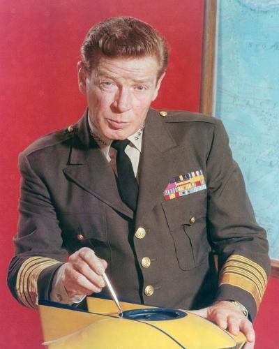 Richard Basehart, Voyage to the Bottom of the Sea (1964)--Photo