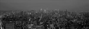 Manhattan at Dusk, NYC by Richard Berenholtz