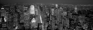 Midtown Manhattan at Night by Richard Berenholtz