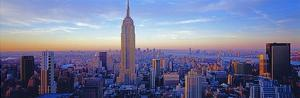 Midtown Manhattan I by Richard Berenholtz
