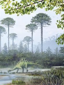 Jurassic Life, Artwork by Richard Bizley