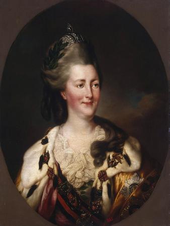 Portrait of Catherine Ii, 1782