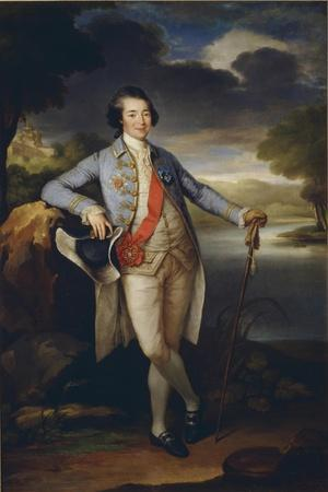 Portrait of Prince Alexander Kurakin (1752-181), C. 1780