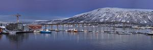 A panoramic view of a port by Richard Bryant