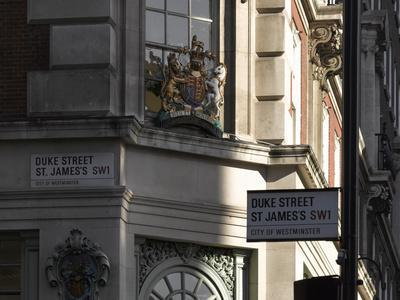 Crest, Fortnum and Mason, Piccadilly, London