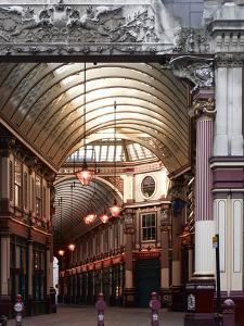 Leadenhall Market, London by Richard Bryant