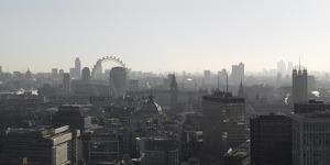 Panorama Looking Towards the East, London by Richard Bryant