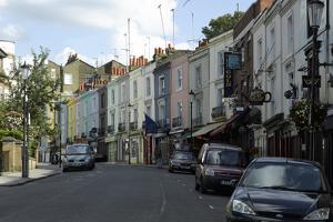 Portobello Road, Notting Hill, London by Richard Bryant